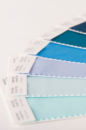 New shades from Pantone's Color System.