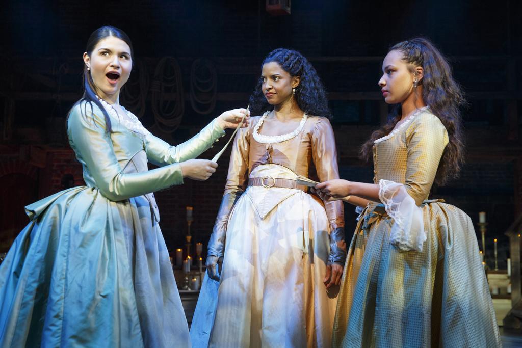 """Phillipa Soo in a scene from """"Hamilton"""""""