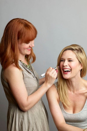 Rebecca Perkins and Stephanie March of Rouge Beauty Bar