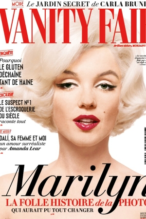 The cover of Vanity Fair France's August 2015 issue