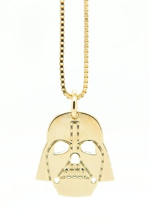 "A look from Malaika Raiss' ""Star Wars""-themed jewelry."