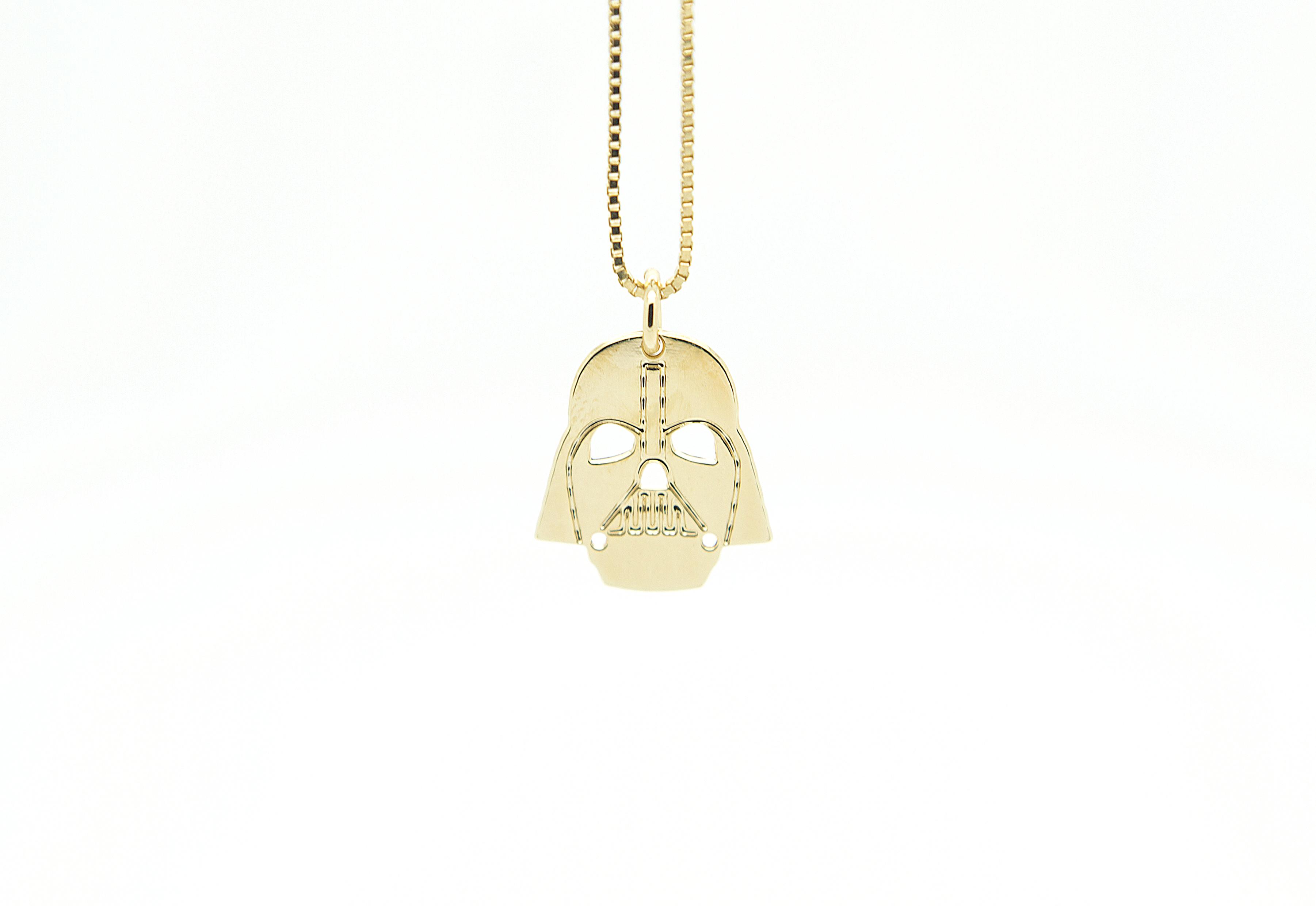 "A look from Malaika Raiss' ""Star Wars""-themed jewelry."