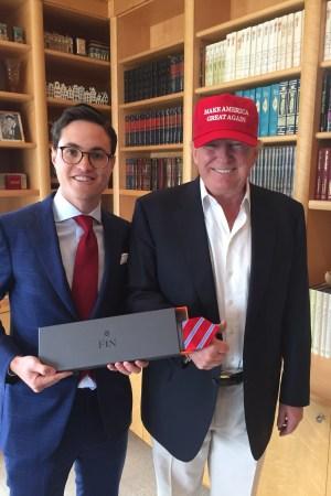David Herzka and Donald Trump