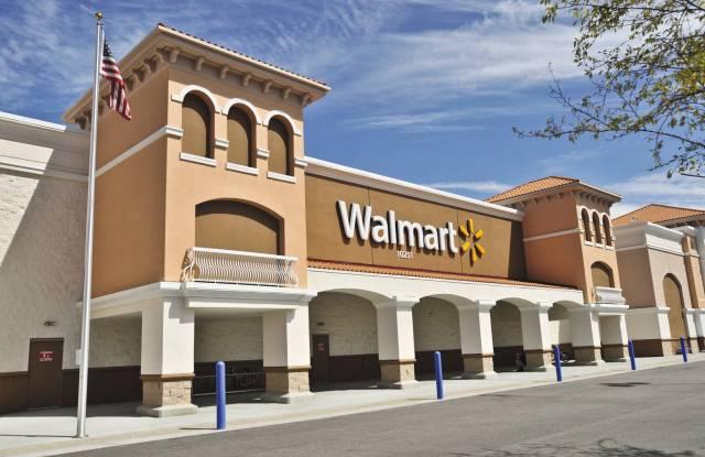 A Wal-Mart store