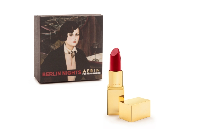 The lipstick by Aerin for Neue Galerie.