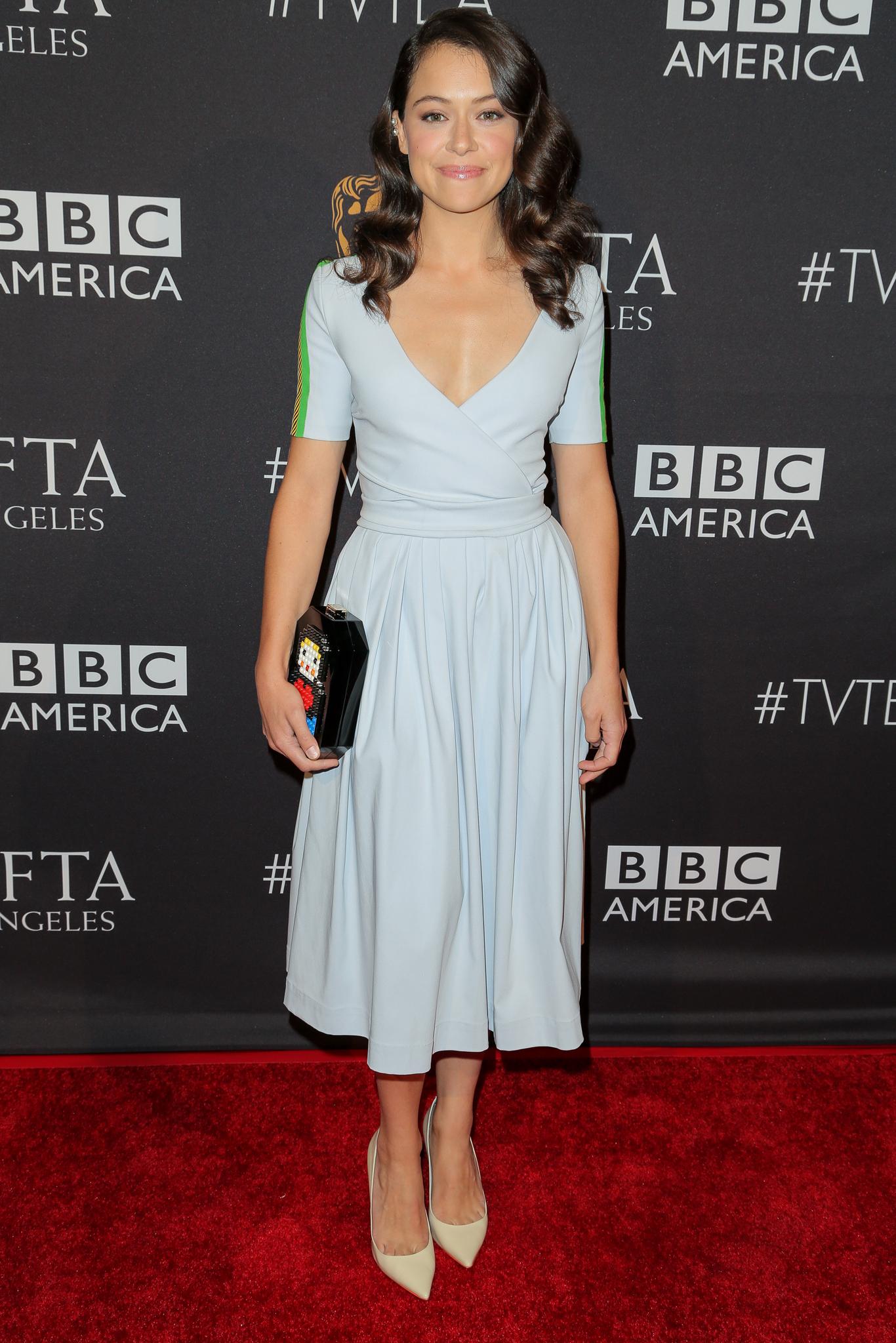 Tatiana Maslany BAFTA LA Pre-Emmys Tea Party