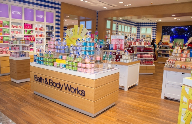 Bath & Body Works in the Santa Fe mall in Mexico City.