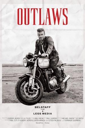 belstaff outlaws movie poster david beckham