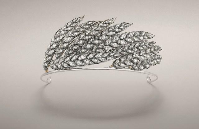 Chaumet's wheat sheaf tiara 1811