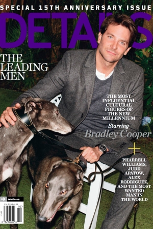 Details' October issue featuring Bradley Cooper.