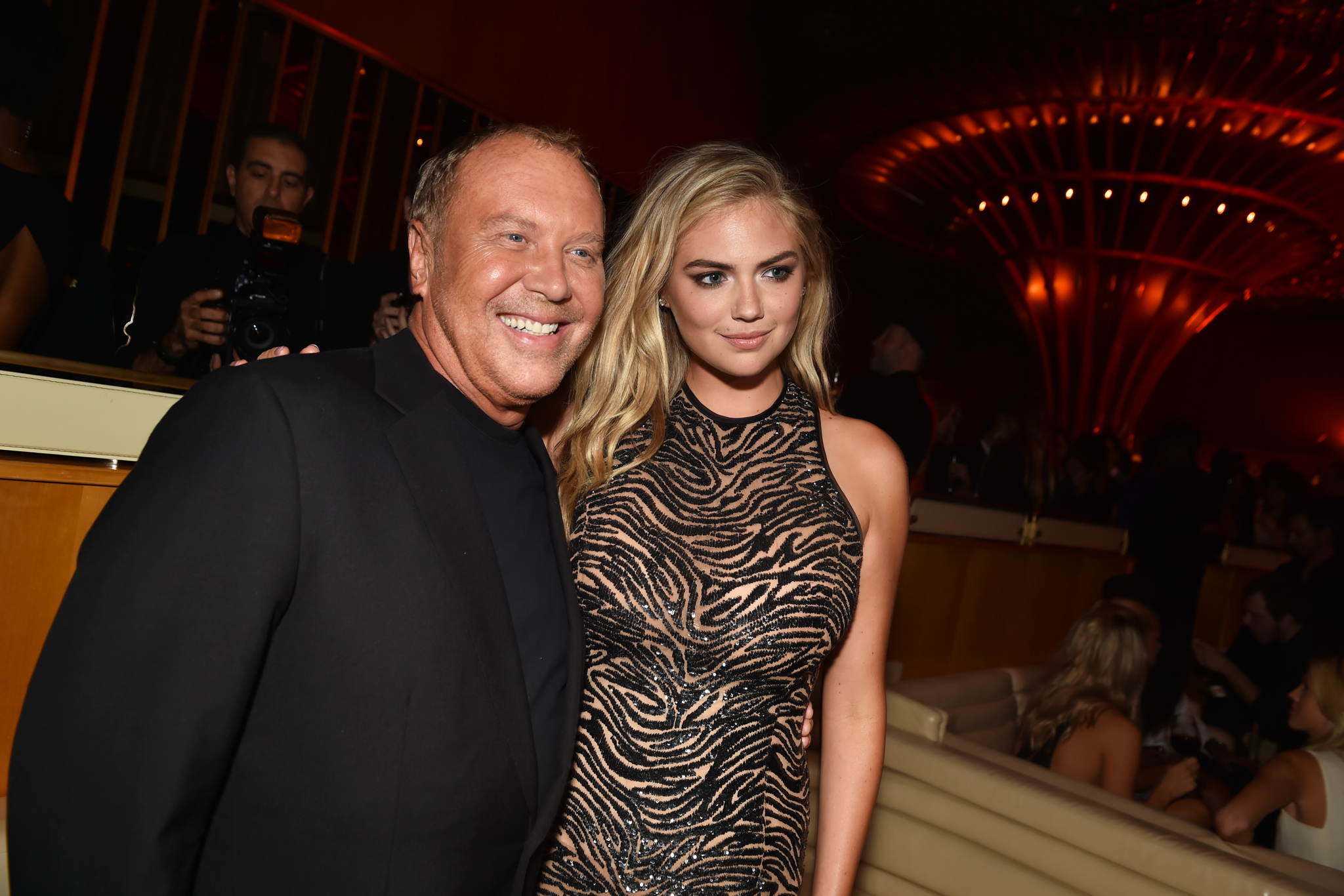 Michael Kors and Kate Upton