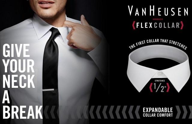 PVH Sets Marketing Plan for Van Heusen Flex Collar Shirts