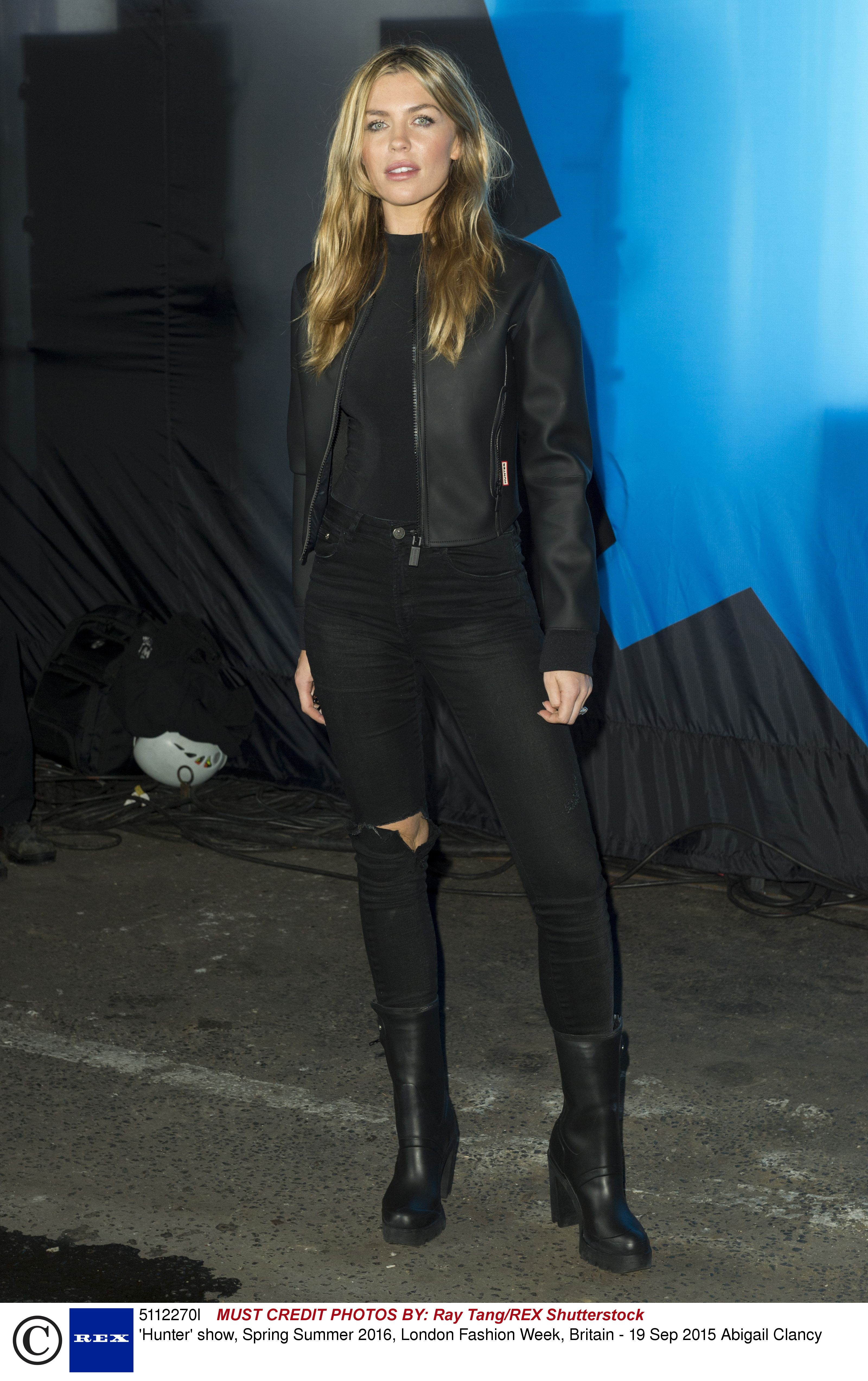 Abbey Clancey Hunter Original Spring 2016 Front Row