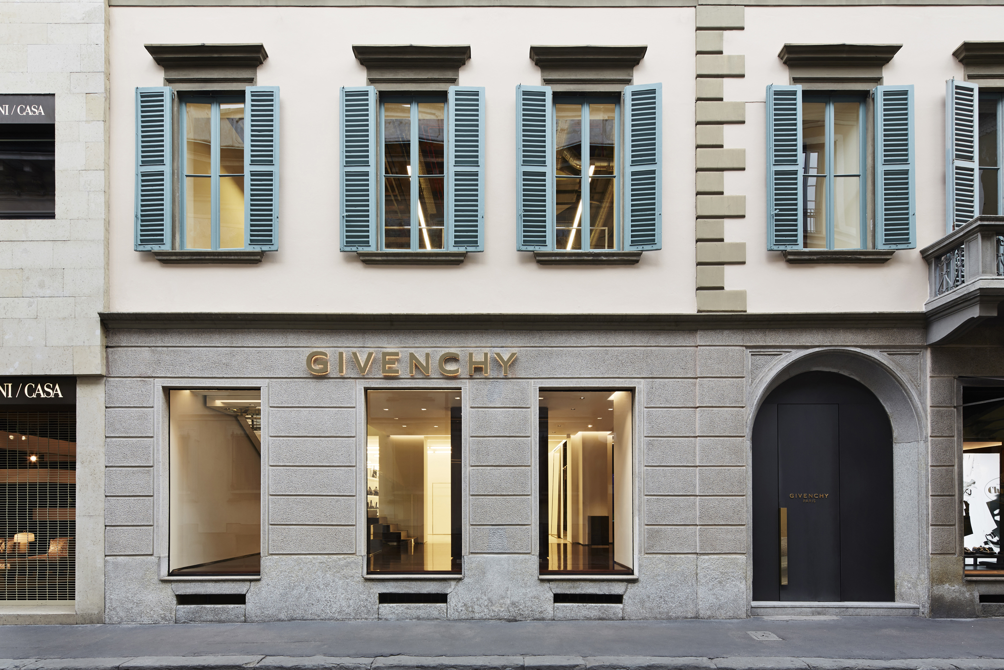 Givenchy Opens First Italian Flagship