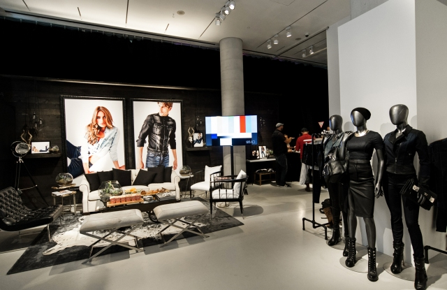 The Guess gifting suite in Toronto.