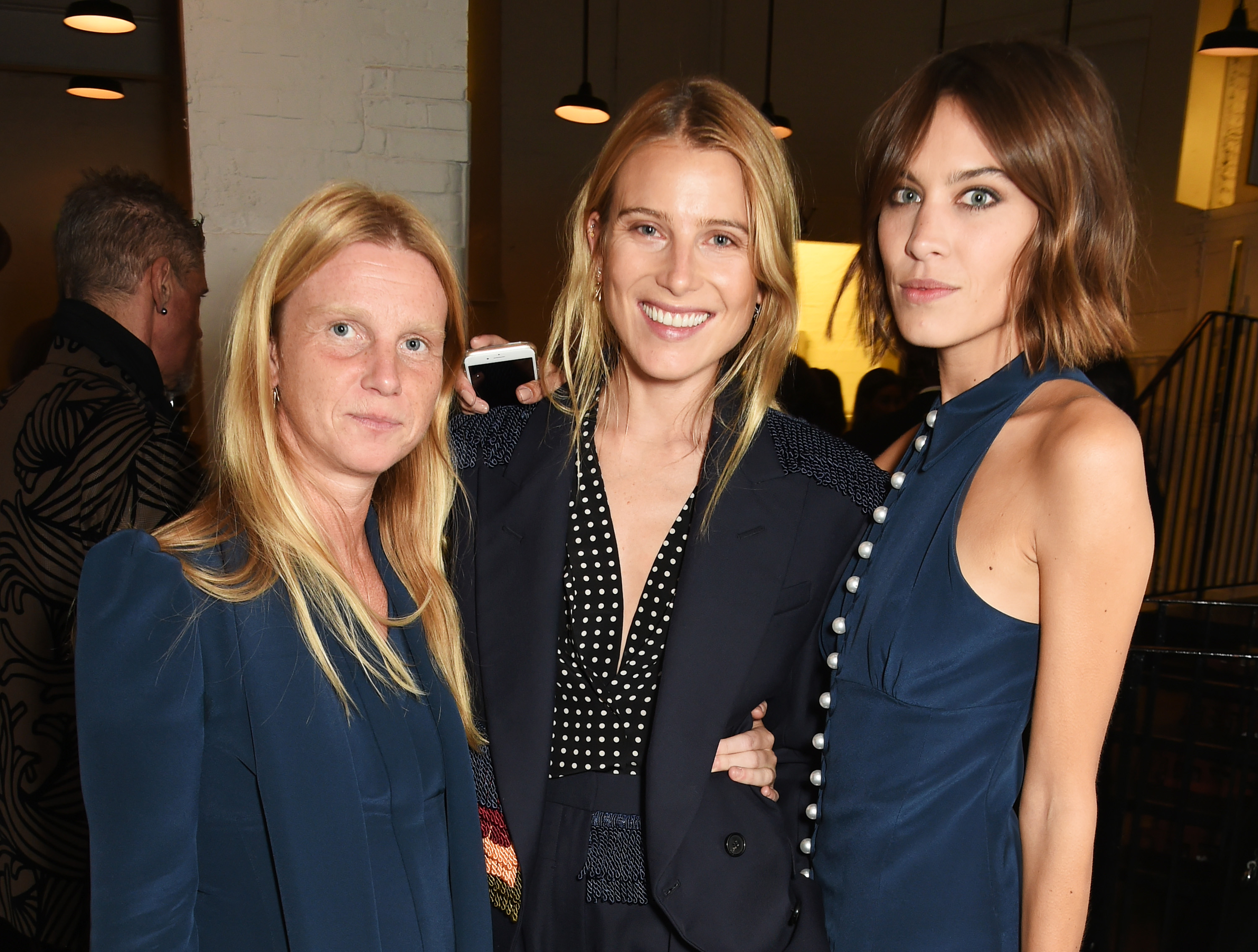 Katie Hillier, Dree Hemingway Alexa Chung Hillier Bartley Launch Party During London Fashion Week