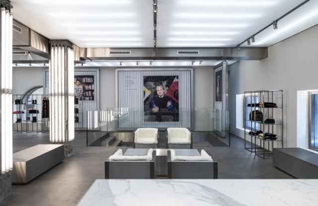 Iceberg's new store in Milan.