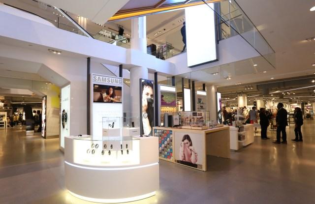 Inside Macy's Millennial floor