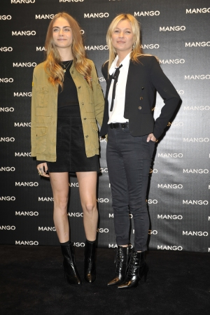 Cara Delevingne, Kate Moss, Mango event Something in Common