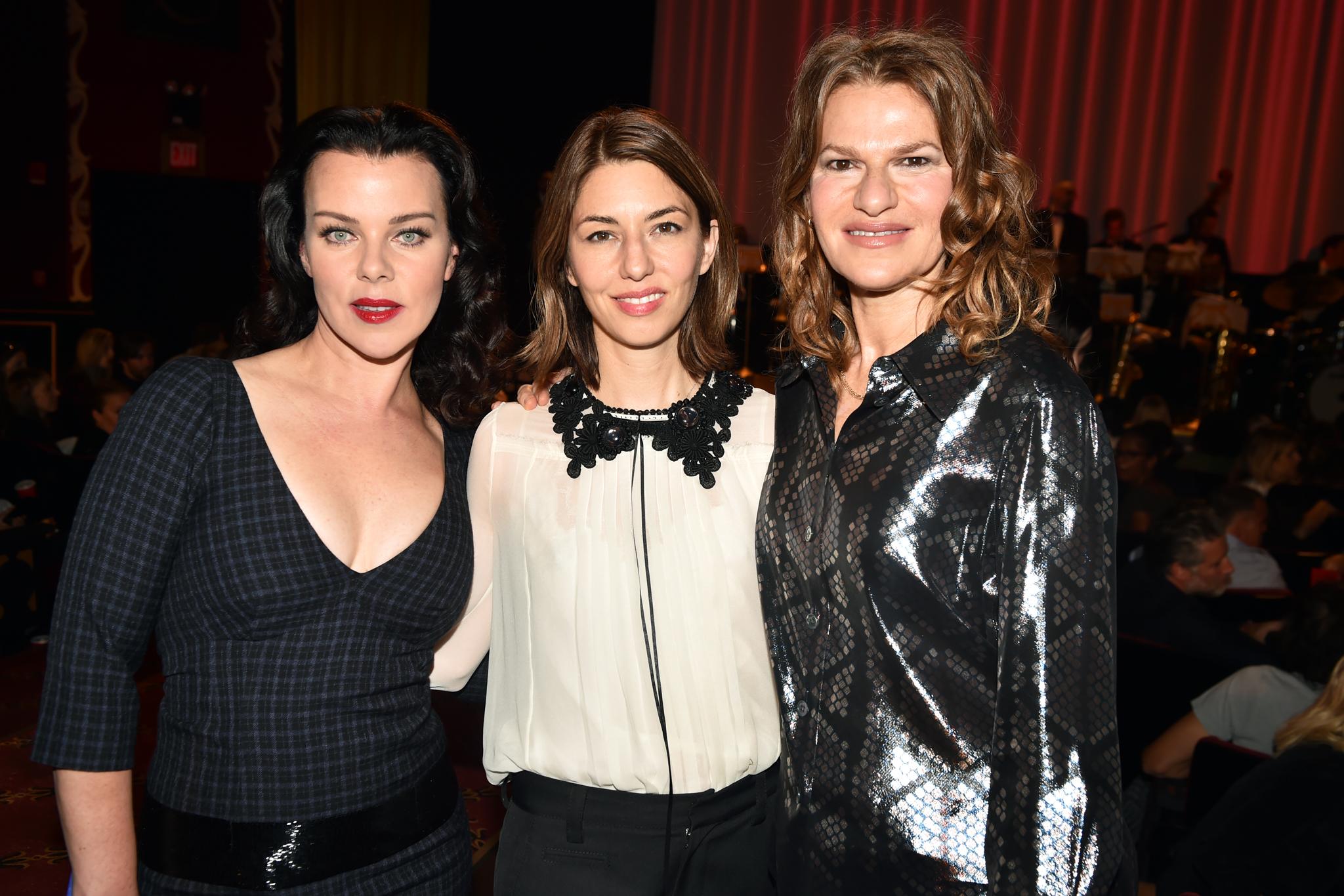 Debi Mazar, Sofia Coppola and Sandra Bernhard.