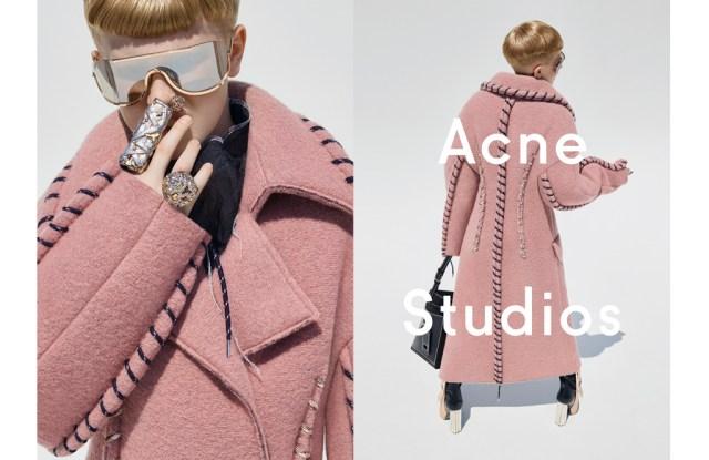 Acne Studios fall ad campaign
