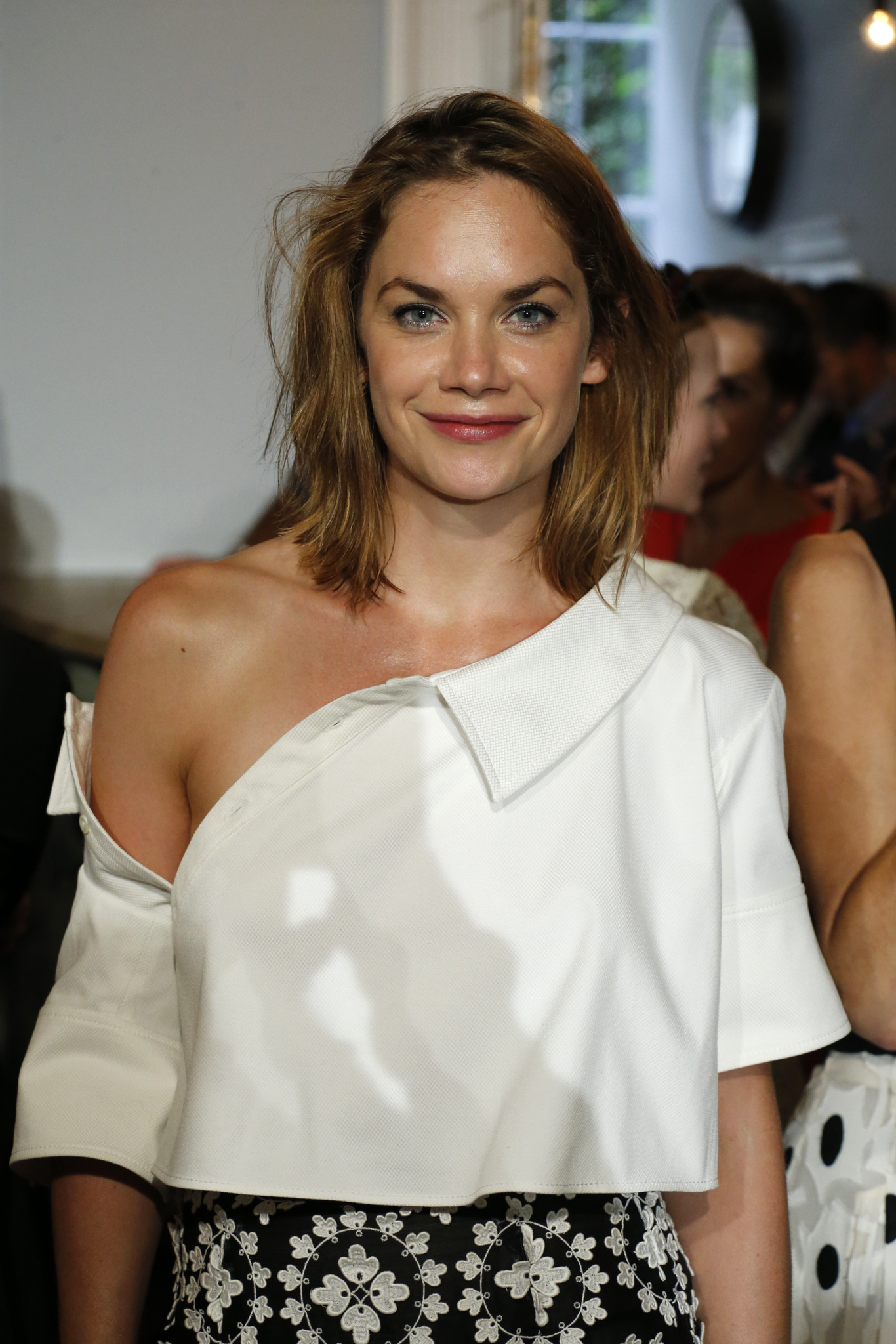 Ruth Wilson front row at Monse