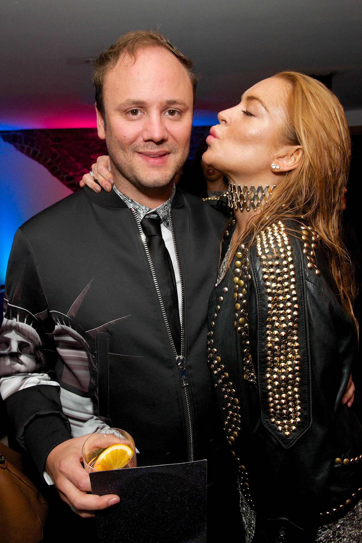 Lindsay Lohan Nicholas Kirkwood 10 Year Collection Party During London Fashion Week