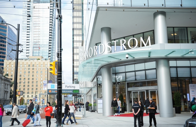 The Nordstrom Vancouver flagship.