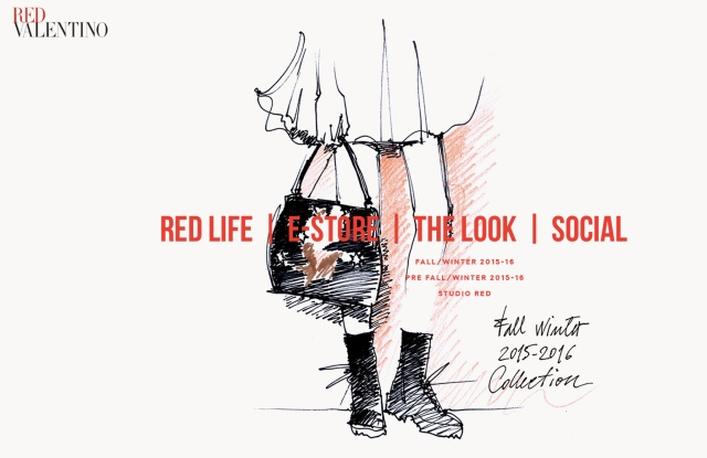 The Red Valentino website.