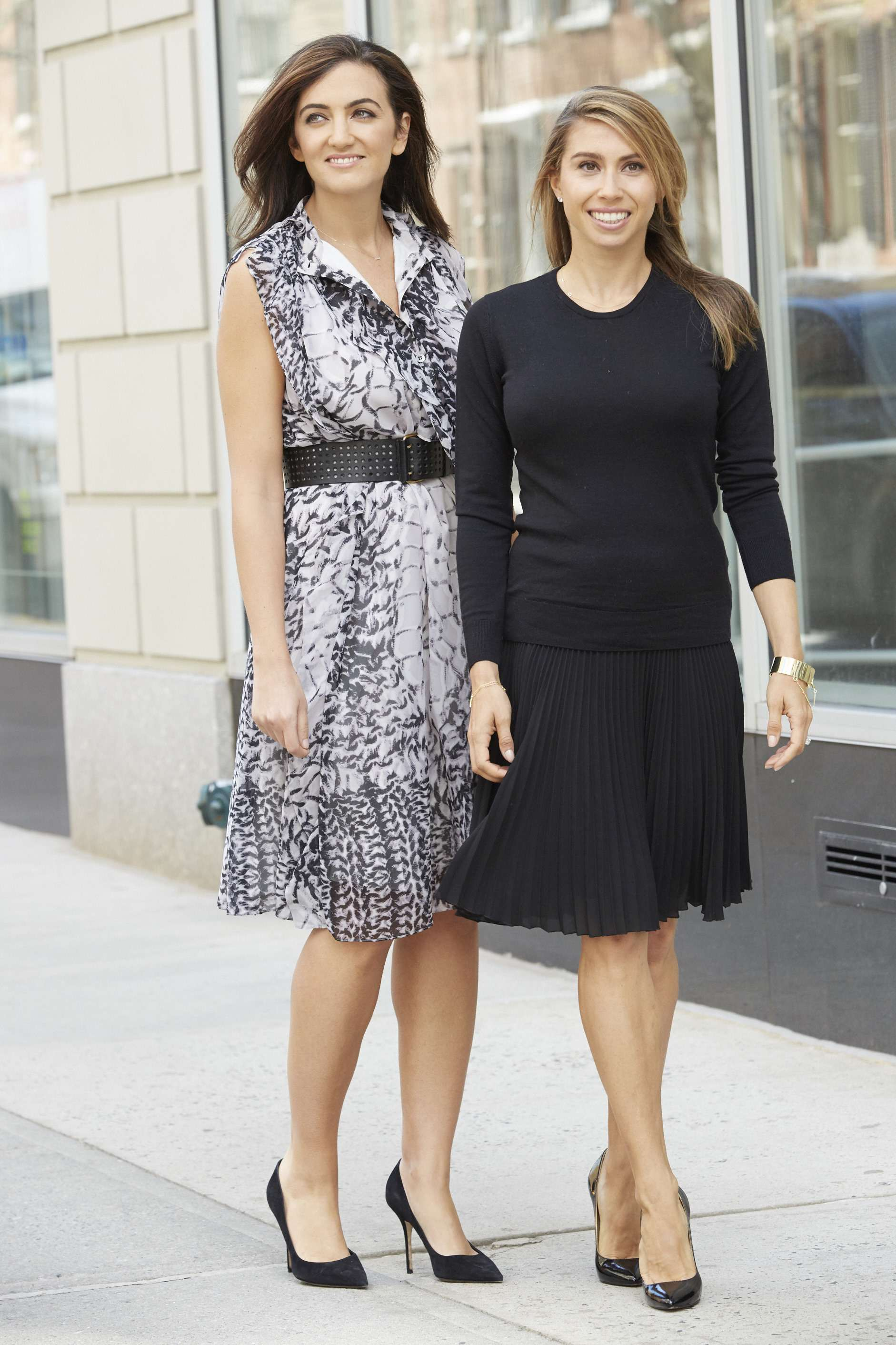 Rent the Runway co-founders, Jennifer Hyman and Jennifer Fleiss