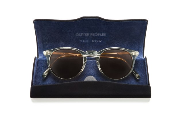 Glasses from the collection by Oliver Peoples and The Row.