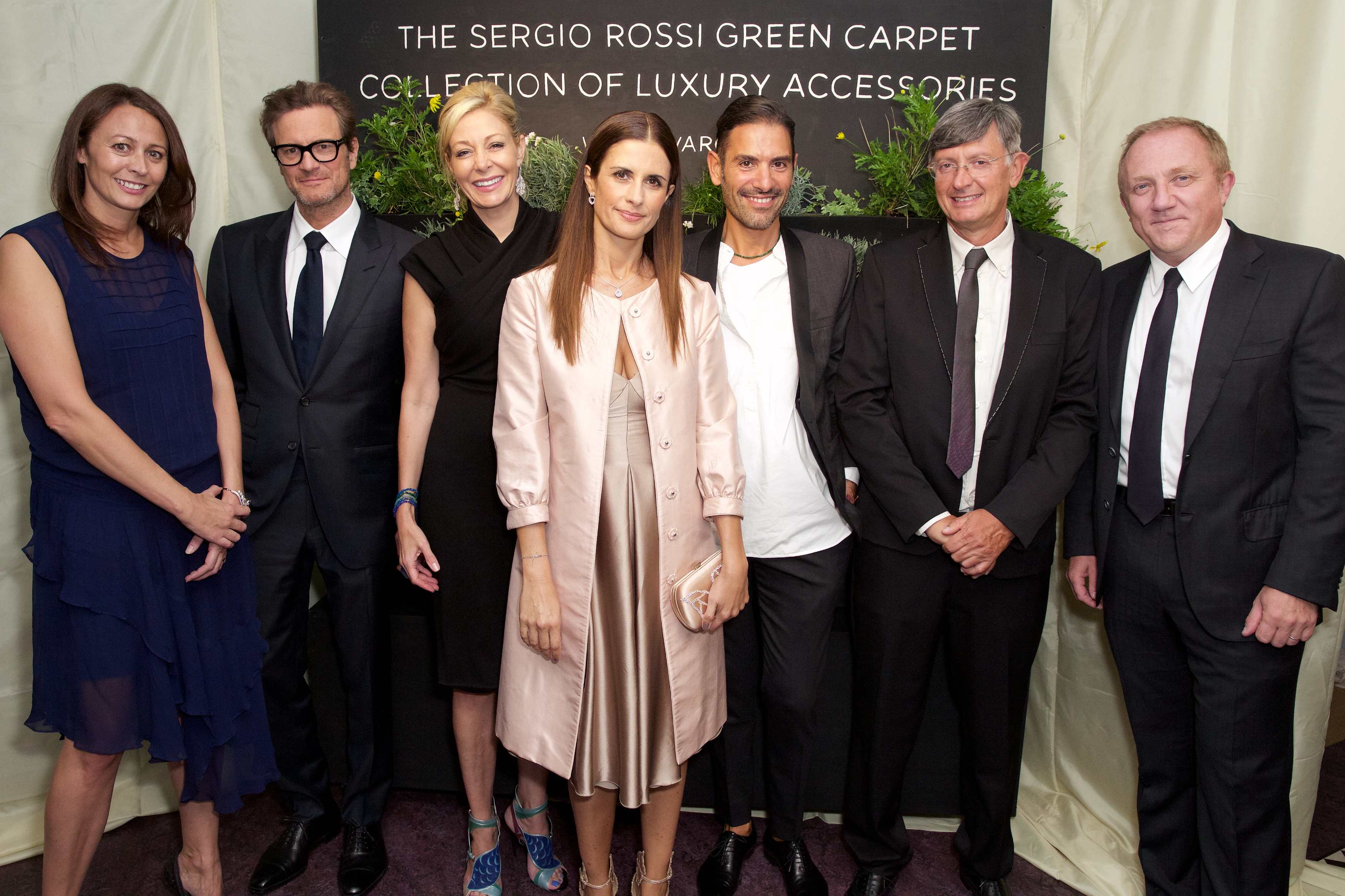 Sergio Rossi Eco-Age Green Carpet Collection of Luxury Accessories