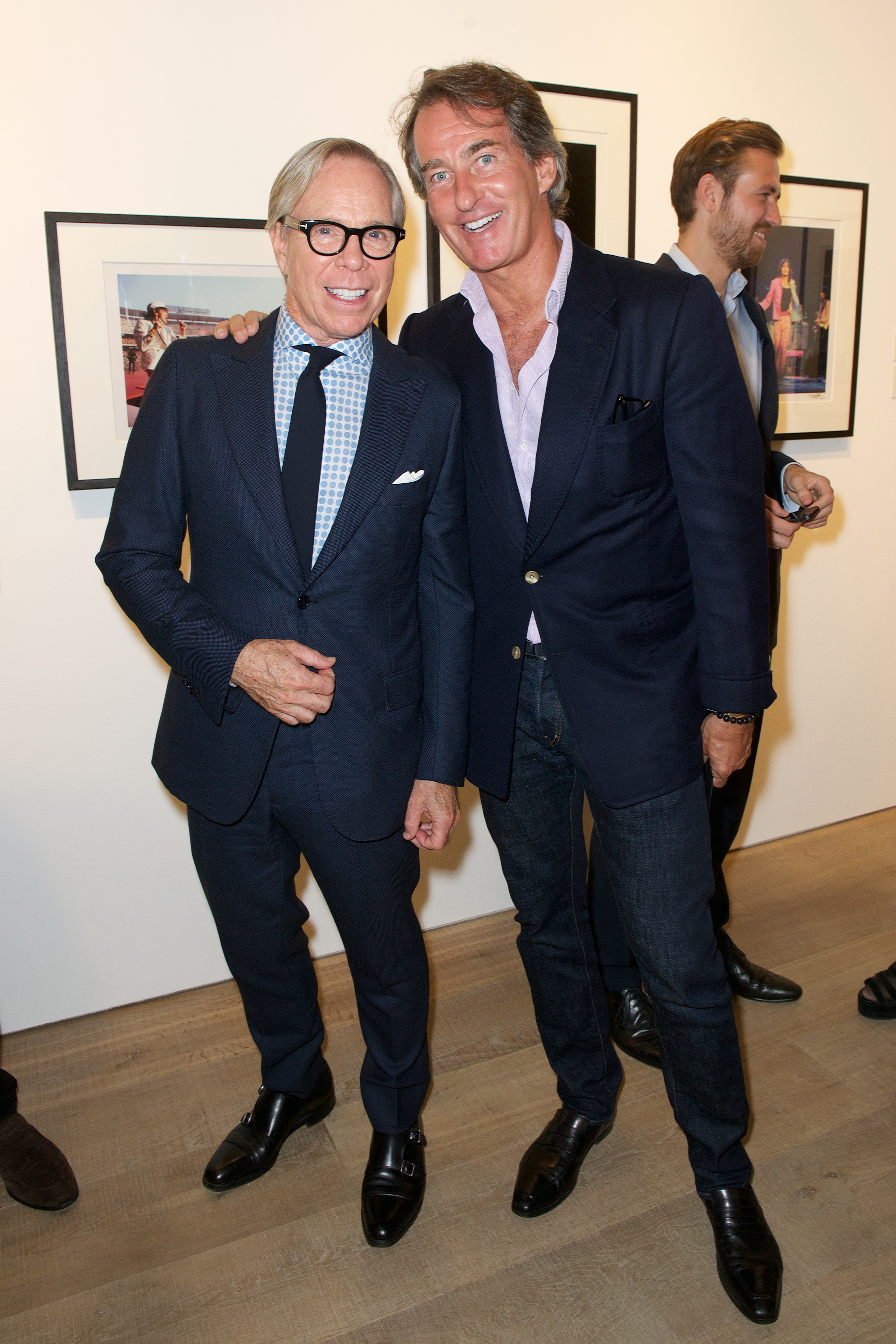 Tommy Hilfiger and Phillip Green Tommy Hilfiger Rock Style Exhibit Launch Party London Fashion Week 2015