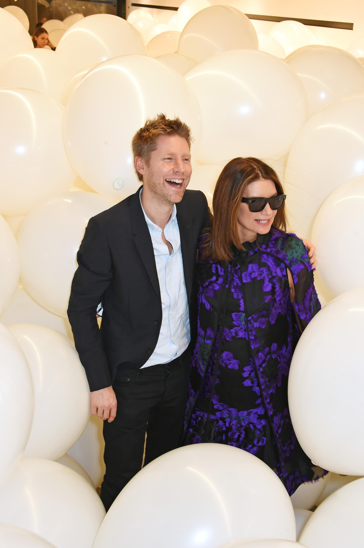 Christopher Bailey and Natalie Massenet Victoria, Victoria Beckham Dinner London Fashion Week 2015