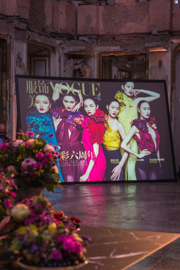 Vogue China 10th Anniversary at 2015 Milan Fashion Week