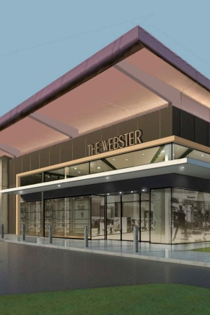 A rendering of the Webster in Houston.