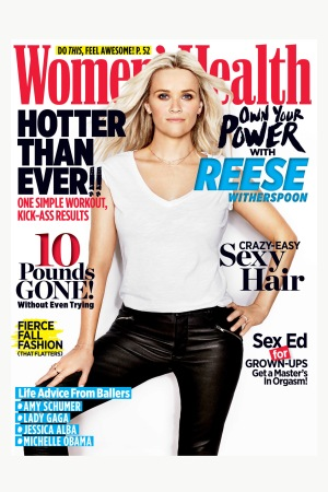 Women's Health's 10th anniversary issue