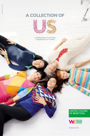 An ad for United Colors of Benetton.
