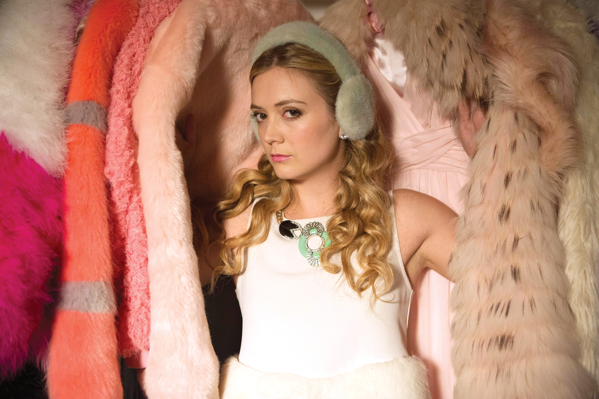 """SCREAM QUEENS: Billie Lourd as Chanel #3 in """"Pilot,"""" the first part of the special, two-hour series premiere of SCREAM QUEENS airing Tuesday, Sept. 22 (8:00-10:00 PM ET/PT) on FOX. ©2015 Fox Broadcasting Co. Cr: Steve Dietl/FOX."""