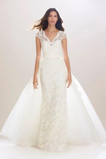 Carolina Herrera Bridal Fall 2016