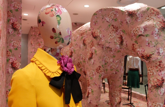 Gucci Customizes Dover Street Market Ginza's Elephant Room