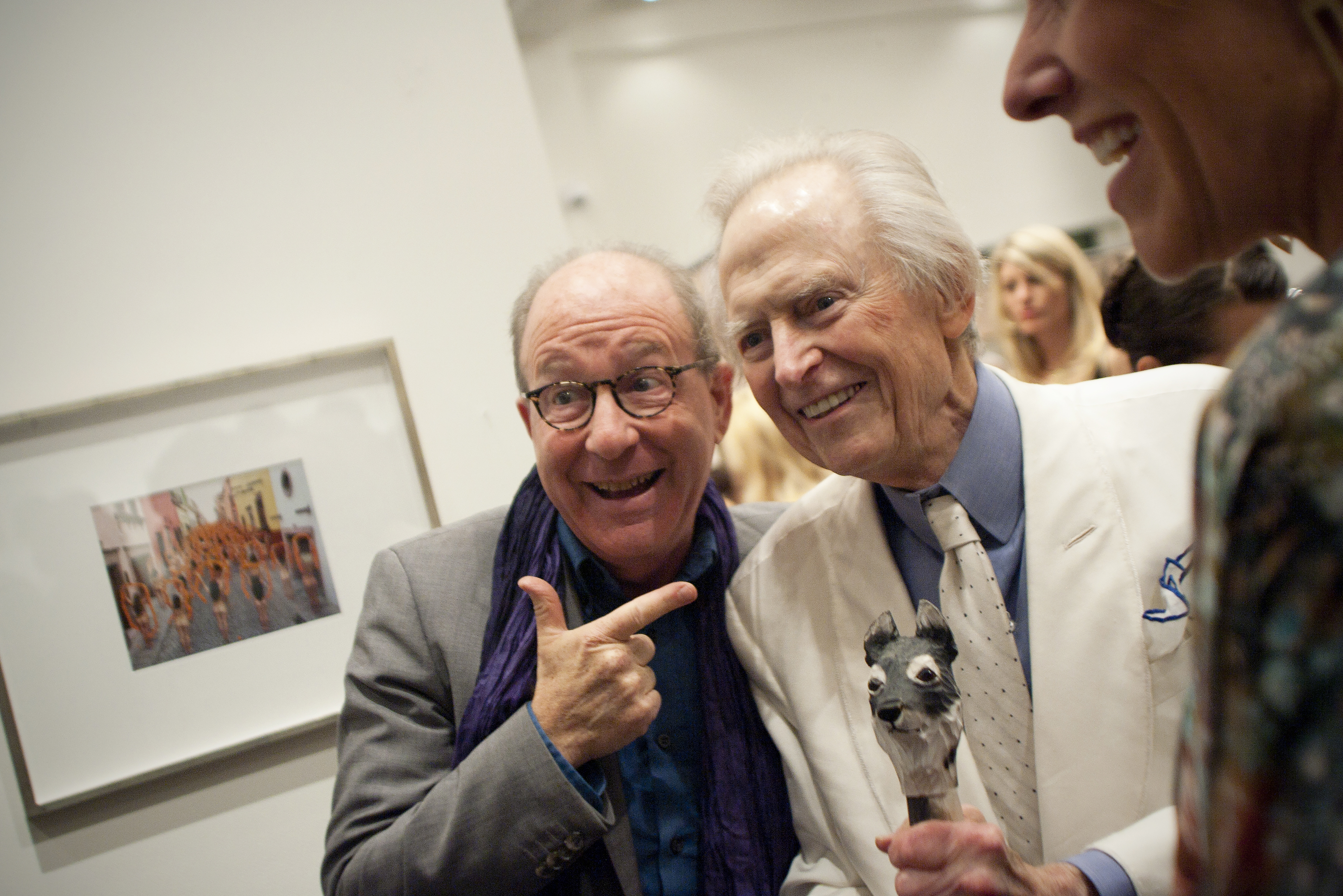 Jerry Saltz and Tom Wolfe