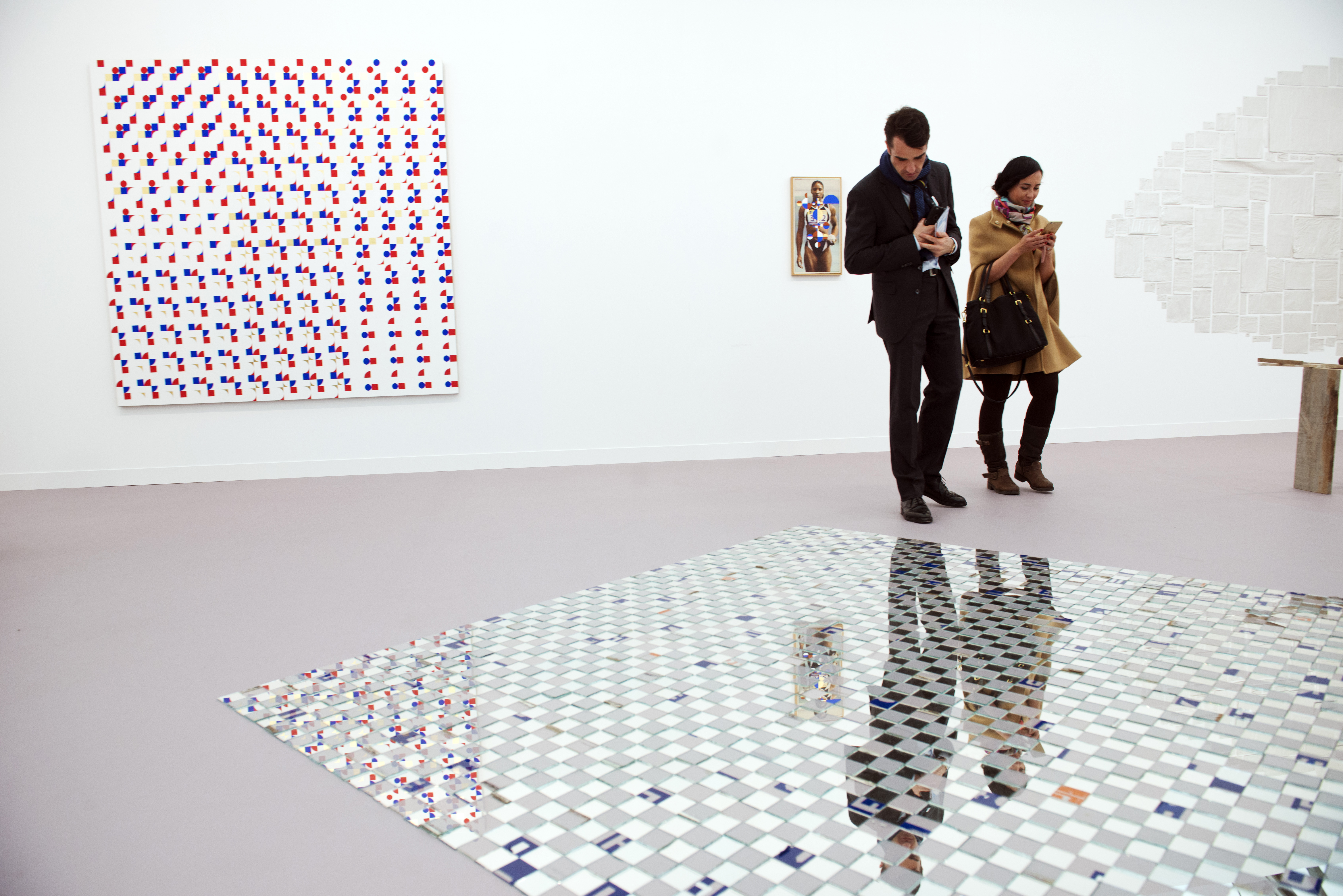 The Kurimanzutto gallery at Frieze London