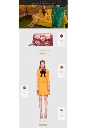The Gucci Web site.