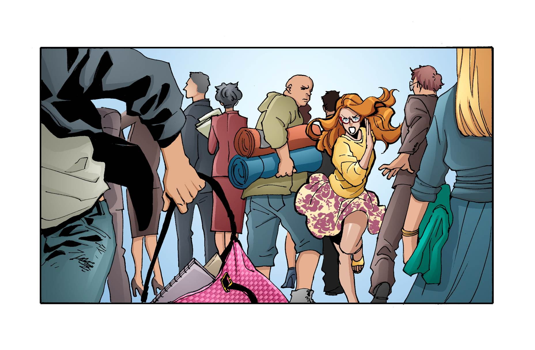 """A look at the """"Heroine Chic"""" fashion comic debuting today on Line Webtoon."""