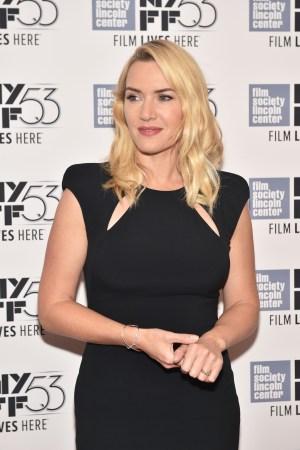 Kate Winslet at New York Film Festival, 2015