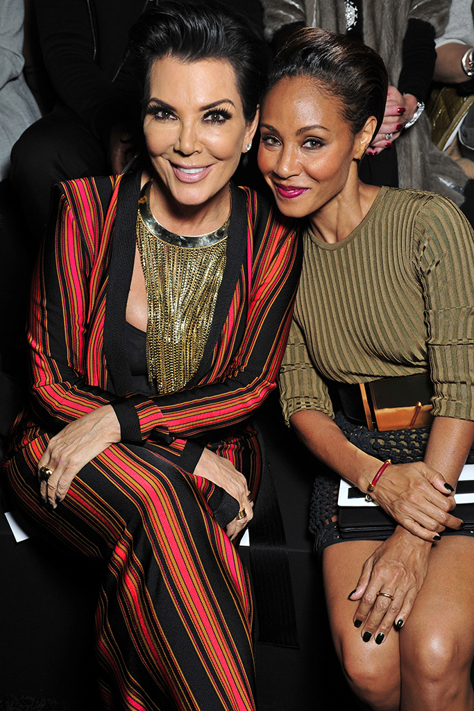 Kris Jenner and Jada Pinkett Smith