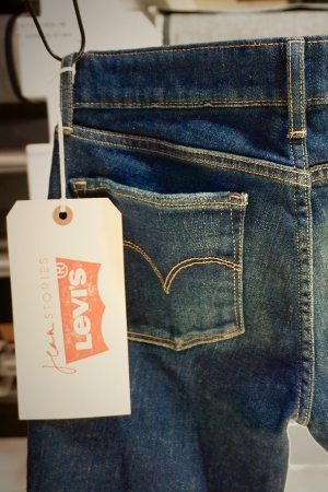A style from the Levi's and Jean Stories collaboration.