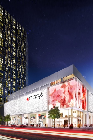A rendering of the new Macy's in Abu Dhabi.