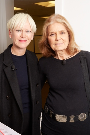 Joanna Coles and Gloria Steinem
